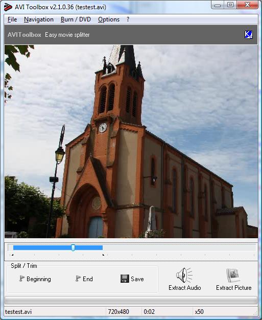 AVIToolbox full screenshot
