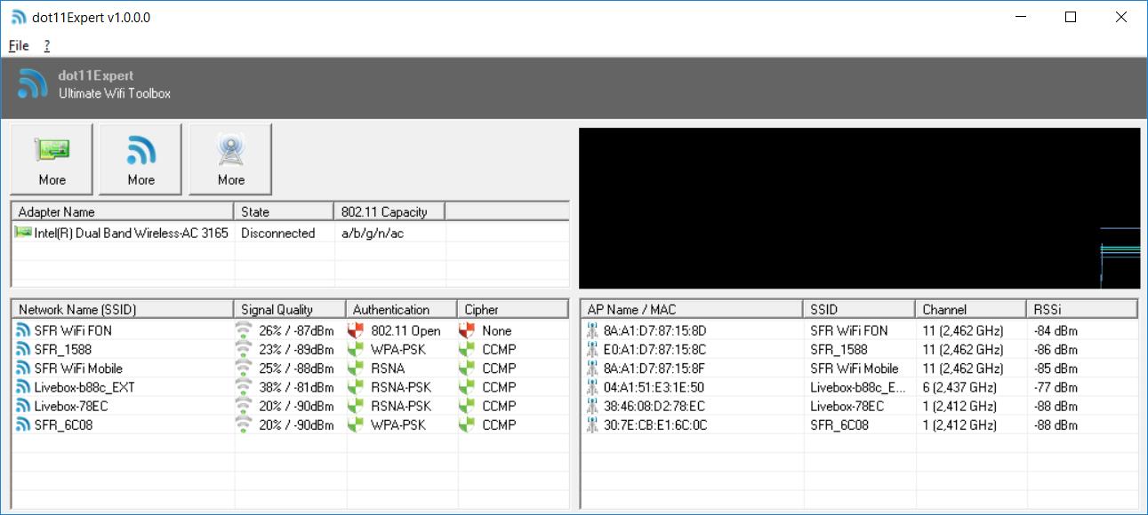 dot11Expert screenshot