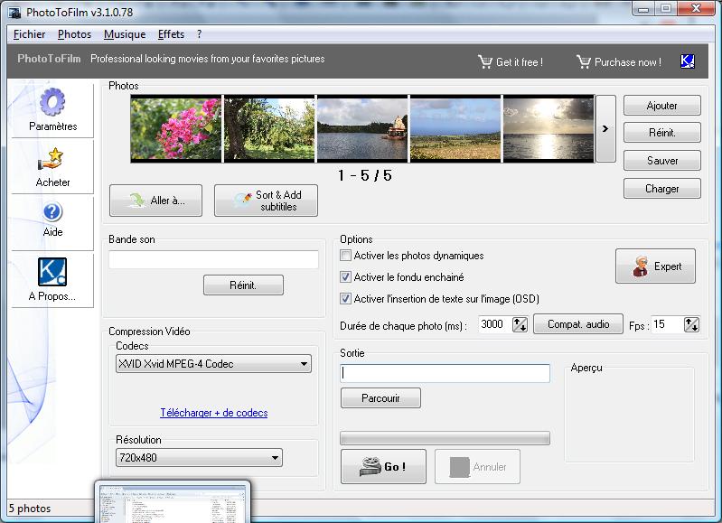 PhotoToFilm screenshot